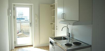 Billeder af fællesk økkener værelser